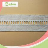 Шнурок вышивки хлопка ткани 2.5 Cm шнурка сетки вспомогательного оборудования одежды