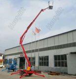 Lufthydraulischer eingehangener Schlussteil-Hochkonjunktur-Aufzug-Dieseltisch