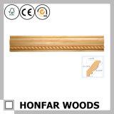 Stile europeo che intaglia il modanatura di legno della parte superiore