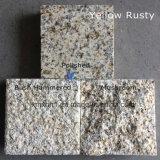G603/654/G664/Rustyの黄色く白い灰色の黒く自然な花こう岩のタイル