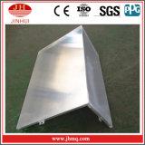 De Voorzijde van de Muur van de Rechte hoek van de Isolatie van de Hitte van het aluminium