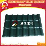 Плитка крыши PVC ASA строительных материалов пластичные/дом конструируют крышу цвета изоляции/плитку крыши синтетической смолаы