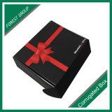[متّ] سوداء صلبة ورق مقوّى إنحناء رابط يعبّئ صندوق