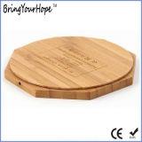 Caricatore senza fili di bambù di legno per il Mobile (XH-PB-141)