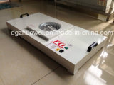 Projeto FFU da unidade do filtro HEPA do ventilador da sala de limpeza FFU no teto da sala de limpeza