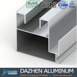 Profil en aluminium de cadre de tissu pour rideaux de guichet du Nigéria avec la couleur personnalisée
