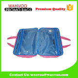 Organisateur cosmétique durable de toile de renivellement d'épaule d'impression pliable de sac