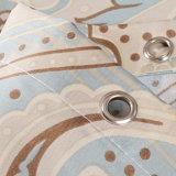 Tenda di acquazzone stampata 100%Polyester impermeabile della stanza da bagno (04S0022)