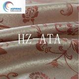 Tissu 100% rayé de rideau teint par jacquard en polyester