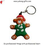 Tierischer weicher Belüftung-Schlüsselring für Förderung (YH-KC074)