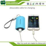 Côté externe de batterie du chargeur 18650 portatif en cuir