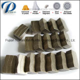 Segment pointu de pierre de découpage de diamant de bord de pierre de découpage pour le granit