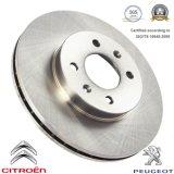Disco automotriz do freio dos componentes de sistema do freio para Citroen/Peugeot