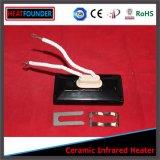 Type radiateurs infrarouges en céramique faits sur commande de source électrique de 122*60mm
