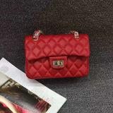 가죽 어깨에 매는 가방 작은 고전적인 작풍 핸드백 숙녀 부대 Emg5104의 새로운 동향