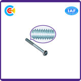 Vite di testa di zoccolo galvanizzata Steel/4.8/8.8/10.9 di esagono del carbonio per i fermi industria/del macchinario