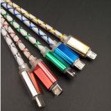 5V 2A Fast Charging Sync Câble USB avec LED Light pour iPhone Téléphone portable