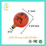 Indicatore luminoso della stringa delle lampadine di natale della lampada incandescente