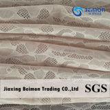 ткань сетки жаккарда 80.36%Nylon 19.64%Spandex для нижнего белья