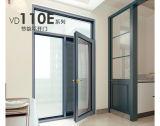 Push Pull Puerta interior de aluminio con doble vidrio templado