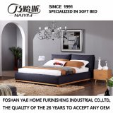 Black Color for Fabric Bed Bedroom Use (FB3076)