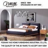 Черная кровать ткани цвета для пользы спальни (FB3076)