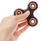 플라스틱 싱숭생숭함 Adhd 불안 자폐증 검정 빛 방적공 장난감