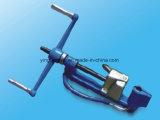 ジッパーのタイをロックする銀製のステンレス鋼ケーブルのタイのラチェット