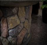 36 بوصة خارجيّة فناء حجارة نار حفرة طاولة