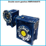 A transmissão de potência industrial Motoviro mecânico gosta da caixa de engrenagens dobro do sem-fim de Nmrv