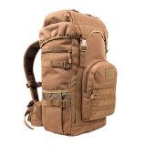 Taktisches doppeltes Schulter-Beutel-im Freiennylonreitkomprimierender Rucksack
