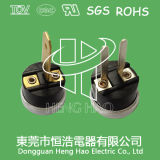 Commutateur de découpage de la température H31, interrupteur H31 thermique bimétallique