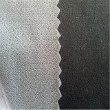 Tela fusible tejida hecha punto circular que interlinea