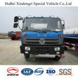 caminhão de tanque do petróleo da gasolina da gasolina do euro 4 de 10cbm Dongfeng com Cummins Engine