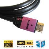 2.0 cable de alta velocidad de HDMI