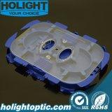 Bac d'épissure en fibre optique bleue