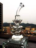 2016 weißes Rocket rauchendes Wasser-Glasrohr