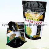 カスタマイズされるサイズは食品等級材料のジッパーが付いている袋を立てる