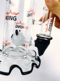 Tubo di acqua di fumo di vetro del nuovo di disegno 18inch 5thickness Adustable di Hbking del favo di rullo della sfera del Birdcage tabacco di vetro esaltante dell'acquazzone