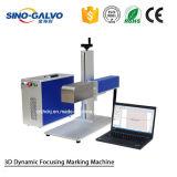 3D Dynamische Scanner van Galvo van de Laser van de Nadruk voor Laser die Machine merken