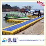 Petit dock flottant simple avec le Decking différent de couleurs de Chine