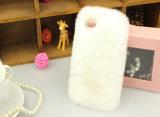 カスタム毛皮のかわいい女性の携帯電話カバーケース