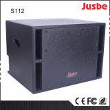 수동 S118 650W는 18 인치 Subwoofer 상자 가정 극장을 골라낸다