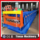 Azulejo de azotea automático lleno de la cubierta de suelo que hace el rodillo que forma la máquina