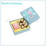 Boîte professionnelle à chocolat de papier de fantaisie de carton