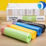 Оптовый пластичный мешок отброса Drawstring мешка отброса