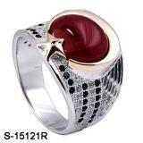 Ontwerp 925 van Hotsale van de fabriek Zilveren Ring voor de Mens