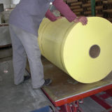 Verstärktes Fiberglas-wasserdichtes Rohr, das Gewebe einwickelt