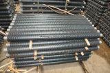 Трубы ребристых труб, алюминиевые пробки ребра для теплообменного аппарата воды воздуха