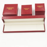 PU de cuero de gamuza caja de embalaje para la joyería (J37-E4)